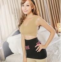göbek şekillendirme kayışı toptan satış-Toptan Satış - Kadın Vücut Göbek Slim Shaper Kontrol Bel Cincher Kemer Kuşak Korse Şekil giyim