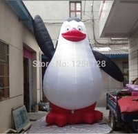 Wholesale Penguin Balloons - 3m H Giant Balloon Inflatable Penguins of Madagascar For Advertising
