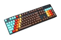 Wholesale Cherry Mx Keyboard 87 - NKPC 1976 Mixed Color Thick PBT Keycaps For cherry MX Switch Keyboard 87 104 108