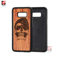Wholesale China Cell Phone Accessories Wholesalers - Bulk Sale Case for Samsung Galaxy s8 s8 plus Wood Original Cell Mobile Phone Case Cover for Samsung s8plus Accessories China Best Supplier