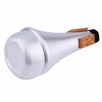 ingrosso strumento giallo tromba-Principianti mute in alluminio caldo trombe per pratica dello strumento jazz