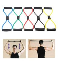 Résistance Santé Personal Fitness Exercise Bands Yoga Pull Rope Pilates Workout Cordages Gym Home Office Muscle Chest Formation Expander