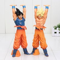 Compra Dragonball Z Giocattoli-24 centimetri più nuovi figura del Anime Dragon Ball Z Goku Genki Dama Spirit Bomb Action Figure Brinquedos DragonBall Collection Giocattolo bambini