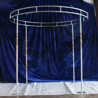 Wholesale Stands For Backdrops - Round Shape Backdrop Stand \ Stage Stent Free Shipping For Wedding Decoration