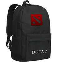 Wholesale Hot School Boys Girls - Dota2 backpack Nevermore school bag Dota 2 player daypack Hot schoolbag New game play day pack