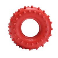 Wholesale Strength Grip Rubber Ring - Wholesale-25kg Forearm Heavy Finger Hand Grip Gripper Ring Exerciser Strength Power Trainer Rubber Hand Finger Grip Circle Massage Ring