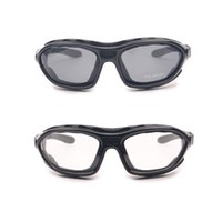 Wholesale Sunglasses Road Cycling Goggles - Wholesale-Sports Motor Cycle Goggles Polarized Clear 2 Pairs for Day & Night, Road Racing Sunglasses, Helmet Glasses with Temples &
