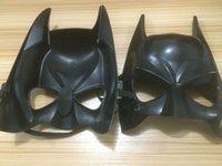 Wholesale Batman Bat Man Mask - Fashion Cosplay Dark Knight Adult Masquerade Party Batman Bat Man Mask for Halloween Masquerade Party New Desige Wear comfortable One Size