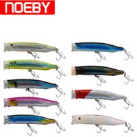 Wholesale Vmc Hooks - Noeby 9Colors Popper Bait 150Mm 54.5G France Vmc Hook Floating Hard Plastic Fishing Lure Isca Artificial Para Pesca Swimbait