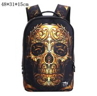 Wholesale Dropped Shoulder - Fashion Shoulder Bags Backpacks Travel Sports Outdoor Casual Designer Brand Skeleton School Bags Drop Ship Free Ship O1004