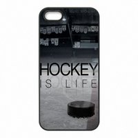 Wholesale I Phone Hard Cover - I Love Ice Hockey Phone Covers Shells Hard Plastic Cases for iPhone 4 4S 5 5S SE 5C 6 6S 7 Plus ipod touch 4 5 6