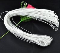 Wax Rope Bijoux Rope 1.0mm Blanc, 15 M 2015 nouvelle