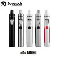 Wholesale Ego Started Kit - 100% Original Joyetech eGo AIO Quick Start Kits 1500mAh battery 2.0ml Childproof Tank Lock All-in-one style Device