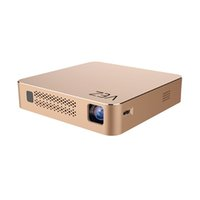 Wholesale laptop video projector online - 2017 VEZ BOX T Multimedia Home Theater Video Projector Supporting P HDMI USB SD Card VGA AV for Home Cinema TV Laptop