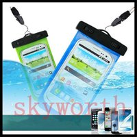 Wholesale underwater case for samsung galaxy s6 for sale – best Universal Clear Waterproof Pouch Case Water Proof Bag Underwater Cover For iPhone S plus SE Samsung Galaxy S6 S7 Note