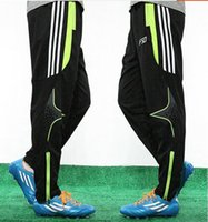 Wholesale Kids Spandex Pants - Striped jogging pants Professional kids adult all size training sportwear Gym exercise sport trousers Quick dry man running wear