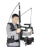 Wholesale Dji Kit - Free Shipping V9 Waterproof Stabilizer Vest 2-6kg Loading Capacity with Climbing Carabiner for DJI Ronin 3 Axis Gimble Stabilizer Assist