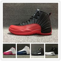 Wholesale Valentines Day Pig - Wholesale 2016 cheap air retro 12s retro 12 flu game the master Valentine mens womens basketball shoes sports shoes sneakers size 36-47