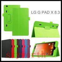 покрытие планшета для lg 8.3 оптовых-Чехол для LG G Pad Gpad X 8.3 F 8.0 G Pad2 10.1 V940 с магнитной подставкой для фолио