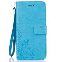 telefone celular magnético venda por atacado-Multi-função de couro Cell Phone Caso Wallet Magnetic Flip Cover Com Card Slots para o iphone 7