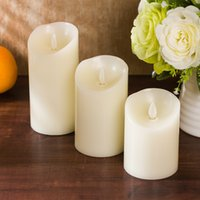 Wholesale Environmental Control - Night Lights Electronic candles have Remote control switch Candle Lights Creative environmental protection plastic electronic candle light
