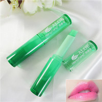 Wholesale Charm Color Cosmetics - Makeup Baby Lip Balm Matte Lipstick Charm Lip Temperature Changeable Color Moisturizering Lips Care Korean Cosmetic