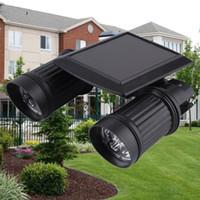 ingrosso luci di movimento luminose-Sensore di movimento impermeabile PIR Super Bright 14 LED Solar Powered Light, luci solari a led Garden Security Lamp Outdoor Street Light