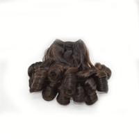 springt haare großhandel-NEU! Peruanisches Menschenhaar, Peruanische Ombre Fumi-Haarverlängerung, Frühlingswelle Two Tone Ombre G-EASY Haarprodukte Freies Shiping