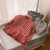 Everweekend Ragazze Neonate Stripe Ruffles Maglione Cardigan Candy Colore Autunno Giacche Invernali Outwears