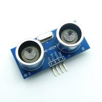 Wholesale Ultrasonic Sensor Modules - HC-SR04 Ultrasonic Module Ultrasonic Sensor HCSR04 Distance Measuring Module for PICAXE Microcontroller Arduino UNO HC SR04