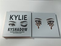 Wholesale Usa Cosmetics - Fashion item KYLIE Kyshadow Pressed Powder Eyeshadow Cosmetics Bronze Palette 9 colors Popular in usa hot item