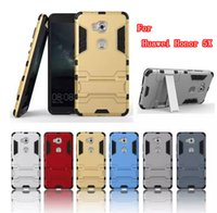 Wholesale Chinese Cell Phones Sale - Hot Sale Hybrid anti-knock kickstand Protective case for huawei Honor 5X Case Cell phone Cover 5X Case Mixed Model Acceptable