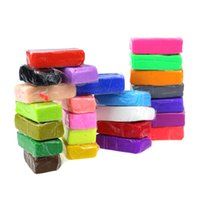 Wholesale Wholesale Fimo Blocks - Wholesale-JECKSION New 24pcs Malleable Fimo Polymer Modelling Soft Clay Blocks Plasticine DIY