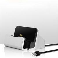 cargador portátil de china al por mayor-Cargador de teléfono celular Data Sync Cargadores de muelle universales portátiles para Samsung HTC Teléfono chino de marca china