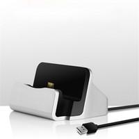 китайский универсальный сотовый телефон зарядное устройство оптовых-Синхронизация данных сотовый телефон зарядное устройство портативный универсальный док зарядные устройства для Samsung HTC китайский бренд Micro USB телефон