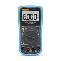 Wholesale ranging multimeter for sale - Group buy Zotek vc15b automatic range digital multimeter for large screen LCD display true RMS frequency duty cycle word display