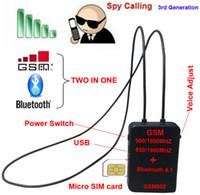 Wholesale Spy Bluetooth Neckloop - Spy GSM bluetooth necklare earpiece,GSM box neckloop spy invisible earpiece