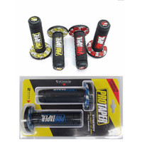 Wholesale Bar Hands Bike - wholesale Modified Motorcycle protaper DIRT PIT BIKE MOTOCROSS 7 8 HANDLEBAR RUBBER GEL HAND GRIPS BAR END brake hands Handle grips 3 color