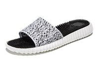 Wholesale Low Heels Online - Free Shipping boost online sale Slippers massage health care slippers Sandal Grey Black Men shoe Size 40-44