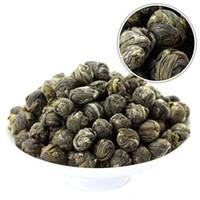 Wholesale Chinese Dragon Pearl - 500g Chinese Organic Premium Jasmine Dragon Pearl Ball Natural Green Tea Free Shipping