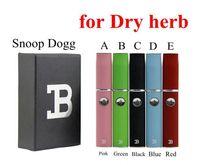 Wholesale Vaporizer Double Kit - Micro Pen Dry Herb Vaporizer Kits Snoop Dogg Herbal Kit Wax Vapor Double B Kits vs Titan 2 also Provide G Pro DGK Blue with White Black 2.0
