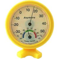 Wholesale Wall Thermometer Free Shipping - Free Shipping Mini Indoor Thermometer Hygrometer Wall Temperature Measure-TH108