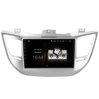 "Wholesale Hdmi Dvd Dvr - 9"" Android 7.1.1 System Car DVD Radio For Hyundai Tucson 2015+ GPS Navi Stereo WIFI 4G HDMI PIP SWC OBD DVR BT 4.0 2G+16G RAM Quad Core"