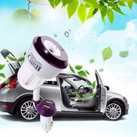 Wholesale usb freshener - Car Humidifiers ii air freshener 12V Car charger High Quality Nebulizer Humidifier Mute Home Air Sterilization 1pcs
