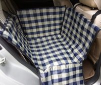 Wholesale Car Seat Covers For Dogs - Waterproof Car Pet Dog Car Seat Cover Puppy Safety Protector Hammock Back Bench Seat Car Interior Travel Accessories for Dogs