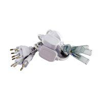 Wholesale Usa Strip - 110V 120V 220V 230V 240V EU USA Power Cords Plug for 3528 5050 LED Strip Lights with 2 PIN Needles and End Caps