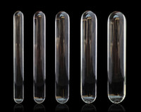 Wholesale Small Glass Dildo - New Pyrex Glass Dildo Small to Big Huge Large Glassware Penis Crystal Anal Plug Unisex Sex Toys women men gay lesbian products