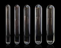 büyük anal fiş yapay penis oyuncak toptan satış-Yeni Pyrex Cam Yapay Penis Küçük Büyük Büyük Büyük Züccaciye Penis Kristal Anal Plug Unisex Seks Oyuncakları kadın erkek eşcinsel lezbiyen ürünleri