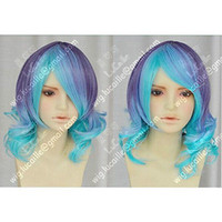 Wholesale Wig Change - Pretty Gradual Change Fashion Wig Hair ANTI THEHOLiC Cosplay Party Short Wig