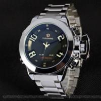 часы двойные цифровые часы оптовых-Relogio Relojes военные спортивные часы аналоговые цифровые мужские двойное время часы светодиодные цифровые часы мужской будильник